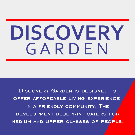 Discovery garden cityplanners property and investment ltd malvernweather Choice Image